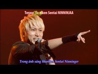 [Vietsub +Kara] Shuriken Sentai Ninninger Opening-Saa! Ike Ninninger-Cho Eiyuu Sai 2016