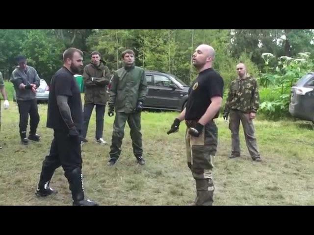 Ножевой бой С.П.А.С., реальные техники применения ножа, часть 1 (knife fighting)