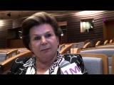 Эксклюзивное интервью с первой женщиной-космонавтом Валентиной Терешковой
