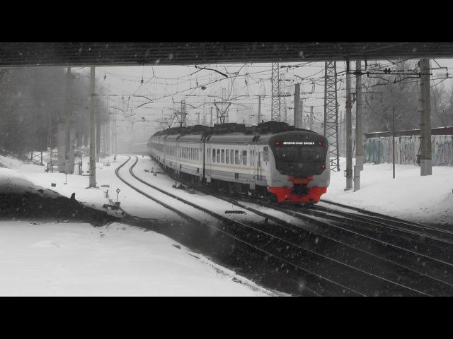Электропоезд ЭД4М-0461 ЦППК станция Москва-Пассажирская-Смоленская