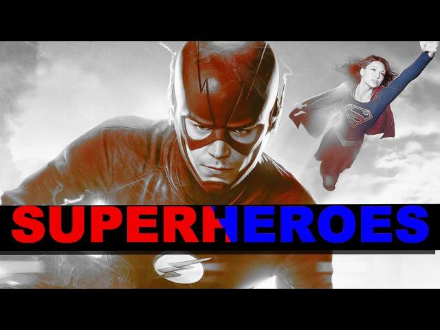 The Flash Supergirl Barry Kara | Superheroes