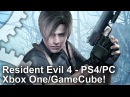 Resident Evil 4 Remastered PS4 Xbox One PC GameCube Graphics Comparison