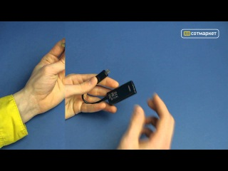 Видео обзор HDMI кабеля для Samsung Galaxy S3 i9300 от Сотмаркета