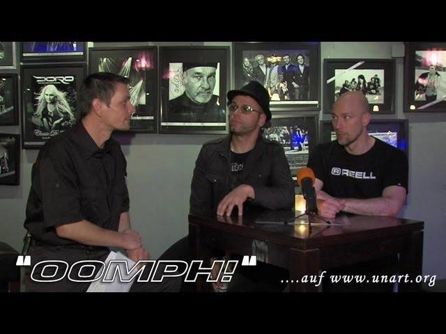 UnArt Live TV - Interview Oomph! , Zeche Bochum 2012