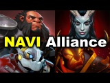 NAVI vs Alliance - El Clasico Showmatch Dota 2
