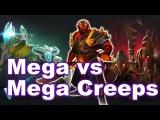 FNATIC WG.UNITY - EPIC MEGA vs MEGA CREEPS! - TI6 SEA Dota 2