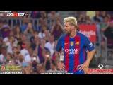 Barcelona vs Sampdoria 3-2 Gamper Trophy 2016 Lionel Messi Free Kick Goal HD