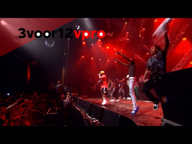 Asap ferg ft. asap rocky, tyler the creator, young thug, schoolboy q live at woo hah! 2016