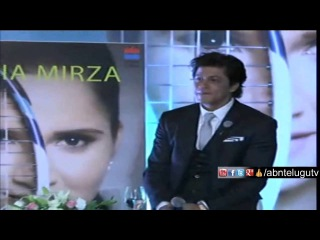 Shah Rukh Khan Speech At Sania Mirza Book Launch | Part 1 | SRK Launches Sania Autobiography