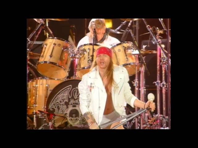Queen ft Axl Rose - We Will Rock You (Freddie Mercury Tribute 92) Blu Ray