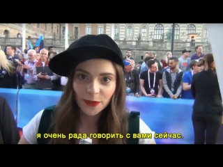 ESCKAZ: Francesca Michilein with messages to Russian speaking [09.05.16]