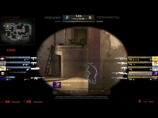 CS:GO | Прострел на карте Mirage