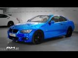 BMW E93 316I ChroME ლურჯი ქრომის გადაკვრა