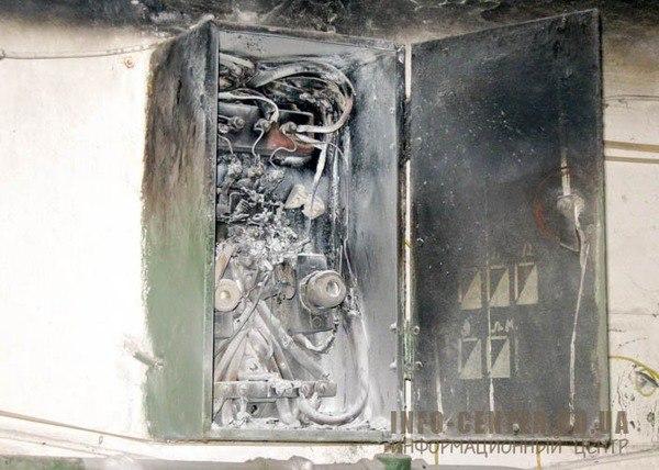 В доме по Лабораторному проспекту горел электрощит