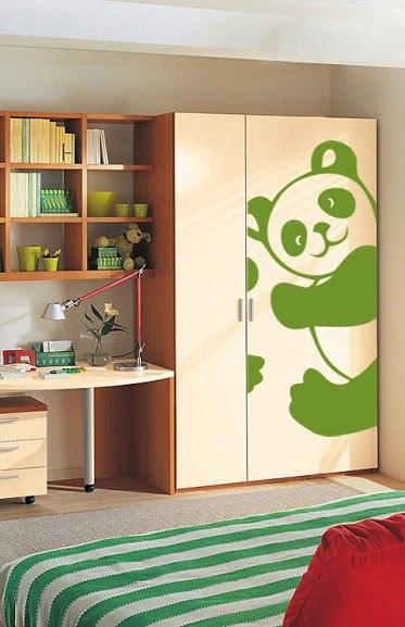 фото виниловая наклейка панда
