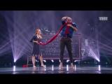 Танцы Юрий Рыбак и Лариса Полунина (Jamala – Обещание) (сезон 2, серия 18)