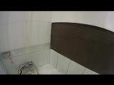 День 153 Муж на час, Восстановление плитки в ванной комнате.
