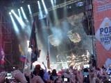 Начало выступления Rammstein. Рок над Волгой 2013