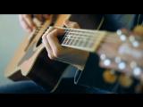 Футаж гитара, игра на гитаре