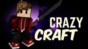 Вас приветствует сервер CrazyCraft