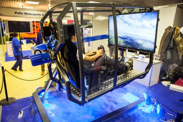 Мужские развлечения, Fly motion, симулятор истребителя