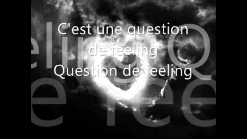 Richard Cocciante Question de feeling