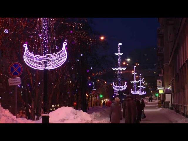 Зимний Мурманск (декабрь 2014 - январь 2015)