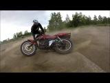 вечерние тренировки и краткий обзор мотоцикла Racer Magnum 200 stunt