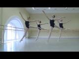 Vaganova Ballet Academy. Classical Dance, Jumps. Girls, 2nd class. 2013.