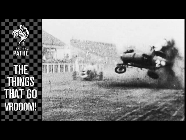 6 Spectacular Car Crashes Grand Prix Drivers | British Pathé