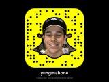 Austin Mahone: Follow me on snap!!! ???