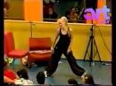 Валерия на Фабрике Звезд-4. Физкультурный мастер-класс