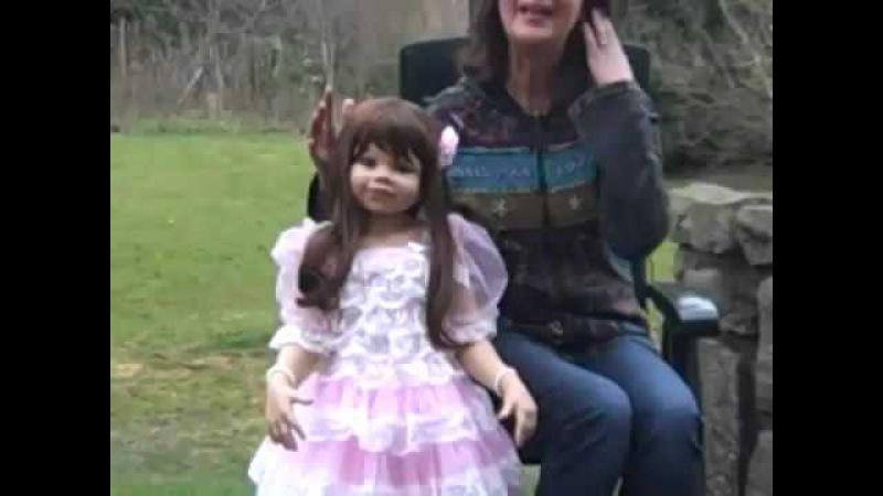 Кукла Мастерпис Джиллиан от Моники Левениг
