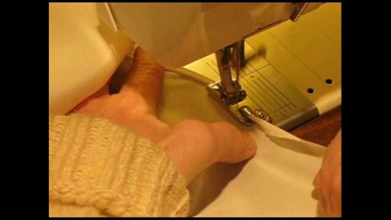 Rolled Hemmer foot Instructions for Bernina