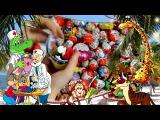 New A Lot Of Candy and Kinder Surprise Eggs | Очень много конфет и сладостей КИНДЕР СЮРПРИЗ