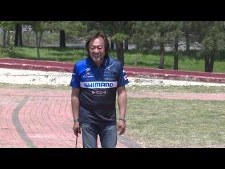 Хват и заброс кастинговой (мультовой) снатью от Jim Murata. 2015 Hajime Murata part3