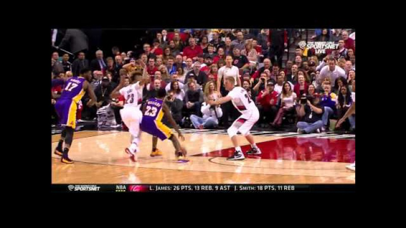 January 23, 2016 - Lakers vs. Trail Blazers - Team Highlights