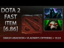Dota 2 Fast Item - Smash Abaddon » Vladmir's Offering » 10:33 [6.86]