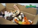 Зверополис Мягкие Плюшевые Игрушки Tsum Tsum и Tomy видео обзор