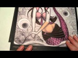 Grayscale Coloring Tip - Light Skin Tone with Colored Pencils - Spellbinding Images
