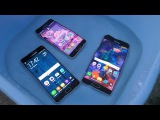 Samsung Galaxy A7 vs A5 vs A3 (2016) - Water Test (4K)