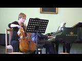 С. С. Прокофьев - Соната для виолончели и фортепиано op. 119 (1,2 части)
