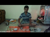 Indian National Anthem On Jaltarang By Young Boy