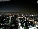 Свет, снятый 14 декабря к Западу от Мехико(веб-камера).Luz captada ayer en el Poniente de la Ciudad de México. ¿Qué será