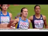 Olesya Povh 100m H2 Women's HD European Athletics Championships Amsterdam 2016