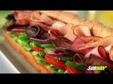 Реклама сети ресторанов Subway для телевидения. Английская версия.