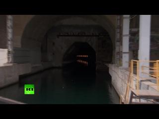 Бывшая секретная база подводных лодок в Крыму