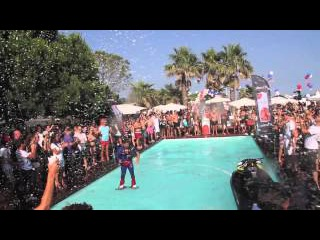 FlyBoard Powered by Atomic Energy Drink at Nikki Beach - 4th July Party