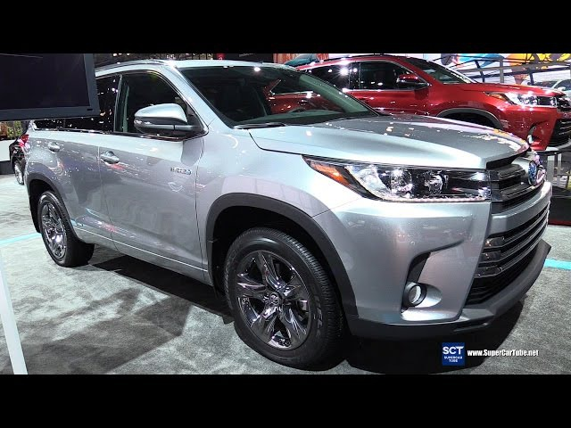 2017 Toyota Highlander Hybrid - Exterior and Interior Walkaround - Debut at 2016 New York Auto Show