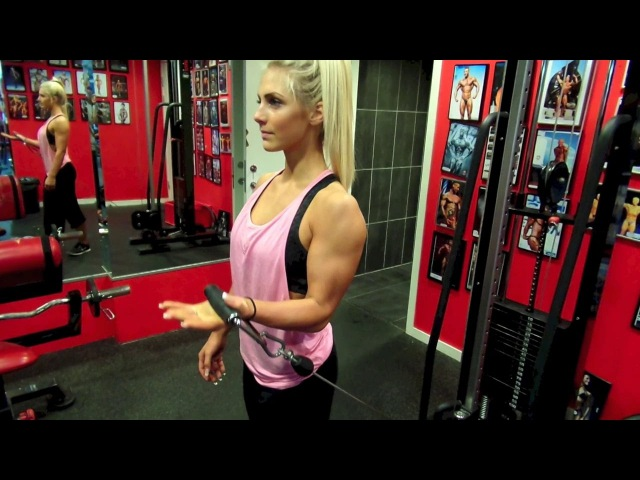 SANDRA JOKIC, THE BEAUTIFUL FITNESS MODEL, A WOMAN WITH HOT BODY